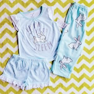 Carter's 3-piece Pajama Set Size 3t NWT $26
